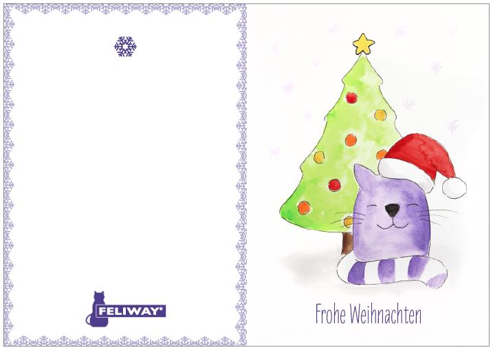 Weihnachtskarte Download
